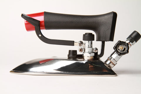 MSP-210A Narrow steam iron full side view