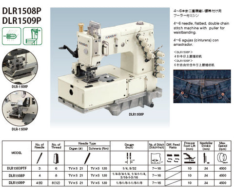 Kansai Special 2 Needle lapseam with puller brochure