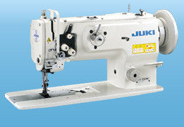 LU-1508 JUKI 1-needle, Unison-feed, Lockstitch with Vertical-axis Large Hook for Heavy & Extra Heavy-weight Materials