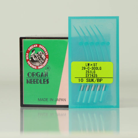 NO-251LG BP Organ Needles