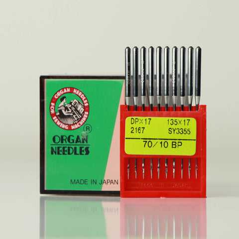 Organ needles for two needle machines