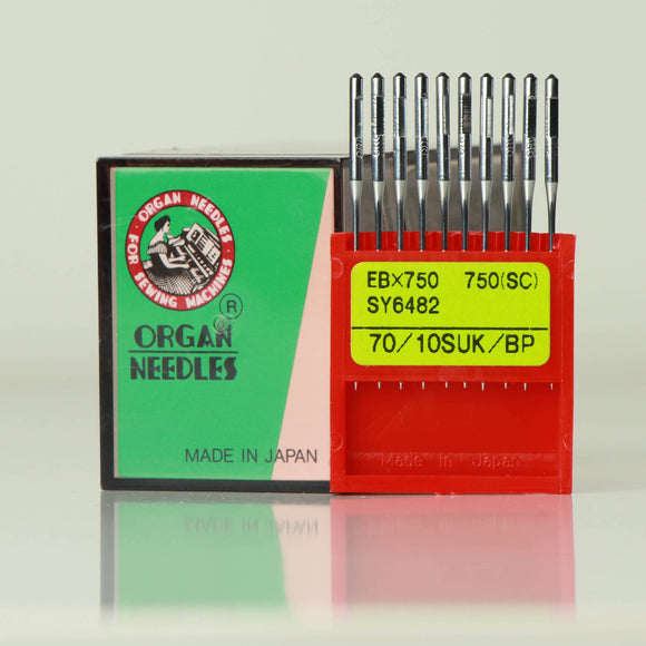 NO-EBX750 BP Organ Needles