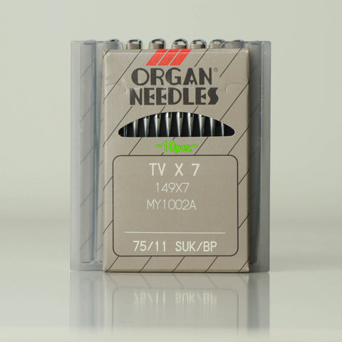 Organ brand needle for arm machines model NO-TVX7 BP