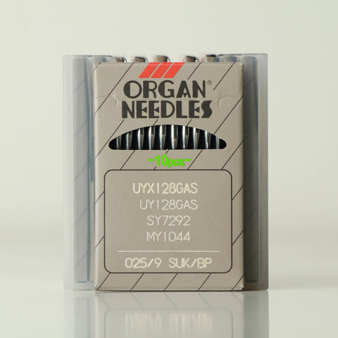 Size 9/025 needles by Organ