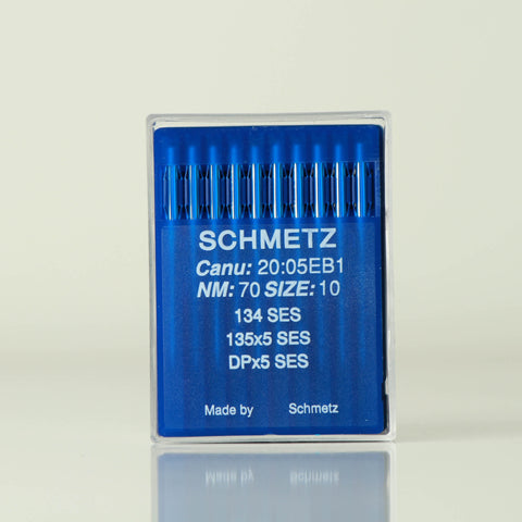 Schmetz branded needle for bartack machines model NS-DPX5 SES
