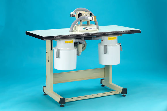 Full view of 3Q Special Tabletop thread trimmer dual head