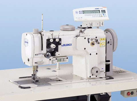 LU-2260N-7 JUKI High-speed, 2-needle, Unison-feed, Lockstitch Machine with Vertical-axis Large Hooks