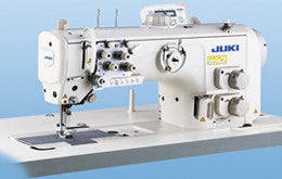 LU-2800 Series JUKI Semi-dry Direct-drive, Unison-feed, Lockstitch Machine with Vertical-axis Large Hook <br><span style=