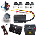 25 Amp | Off-Grid Dual Battery and Charging System Kit
