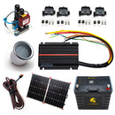 50 Amp | Off-Grid Dual Battery and Charging System Kit