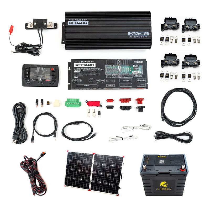 Copy of 30 Amp - The Ultimate - Off-Grid Dual Battery, Charging, and Switching Kit - No Solar