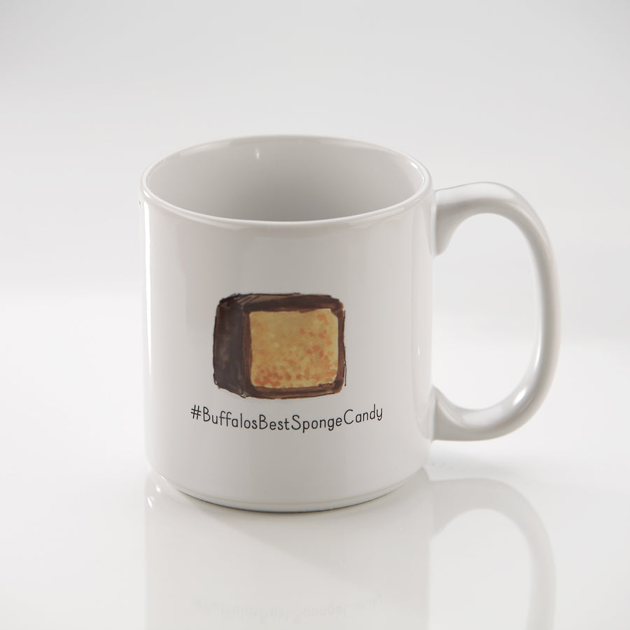 Buffalo's Best Sponge Candy and Mug