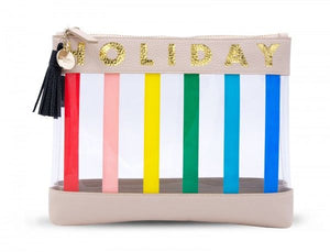 Inflight Bag - Nude Rainbow Holiday