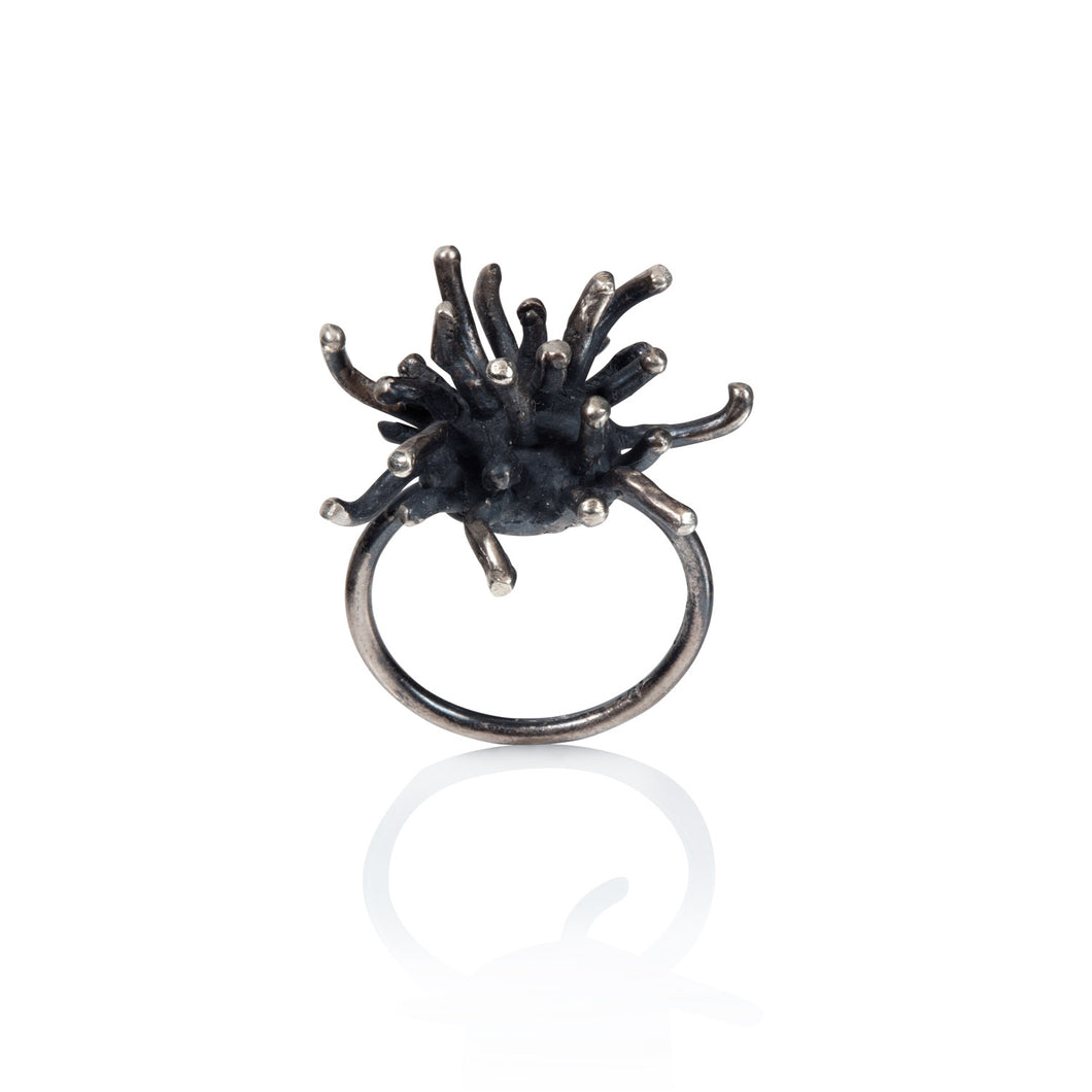 Mermaid Collection - OXIDIZED SILVER RING