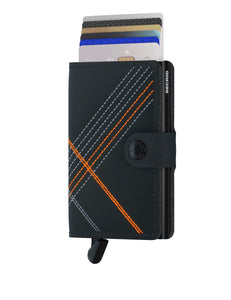 Miniwallet Stitch Linea Orange