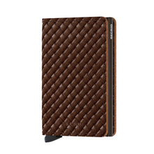 Load image into Gallery viewer, Slimwallet Basket Brown