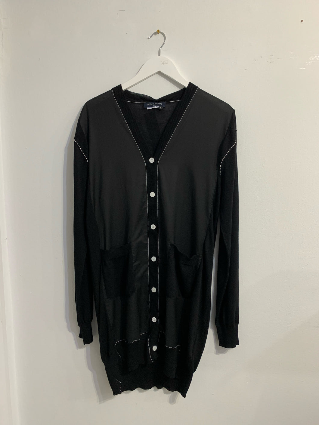 Quest Dress / Long Cardigan - Black