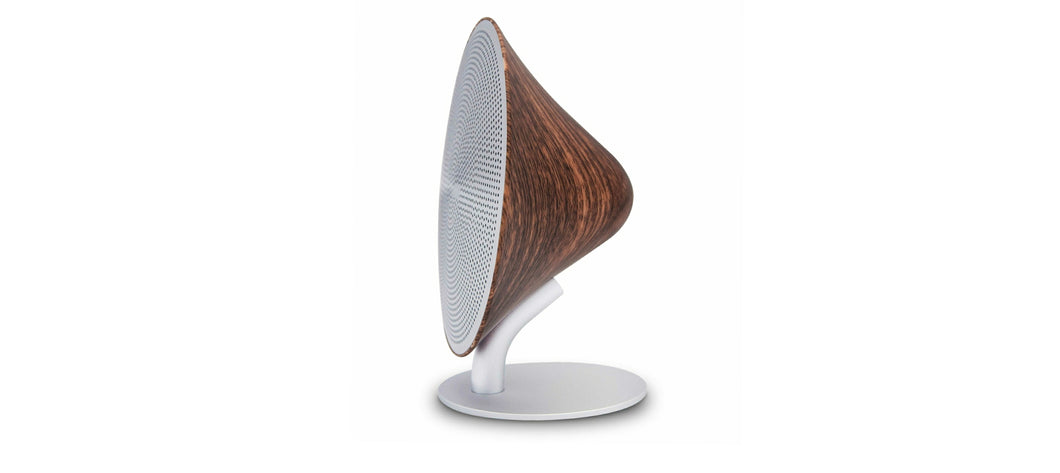 Mini Halo One Speaker - Walnut