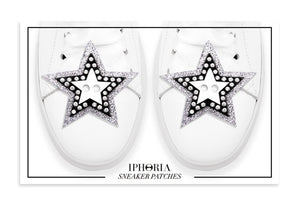 Acrylic Sneaker patches- Disco Stars