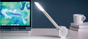 Octagon One Desk Light - White