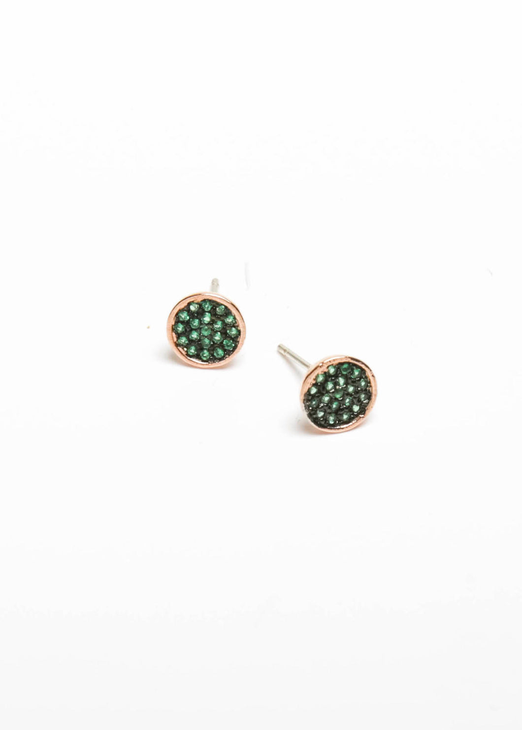Poppy Green - Rose Gold