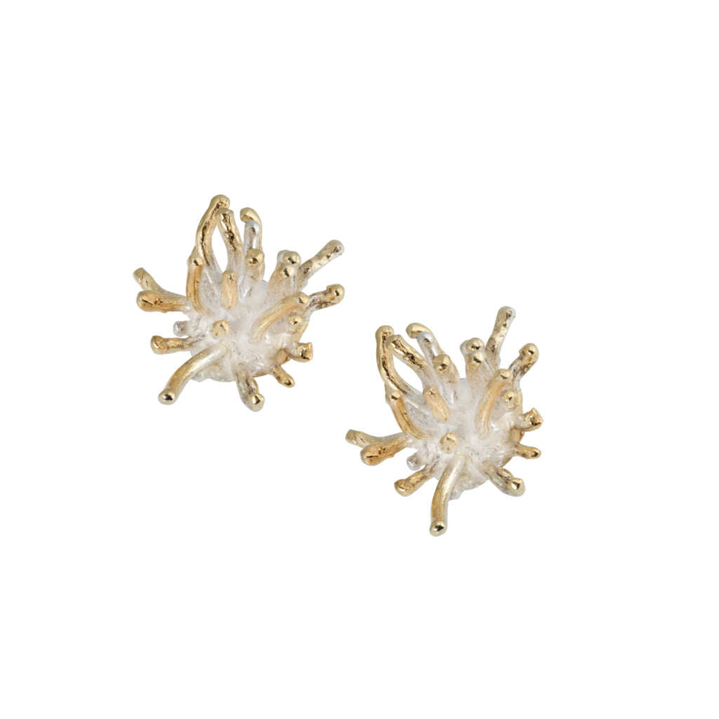 Mermaid Collection - GOLD PLATED SILVER EARRINGS
