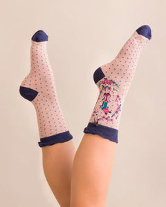 A-Z Ankle Socks - I