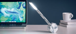 Octagon One DeskLight - Marble