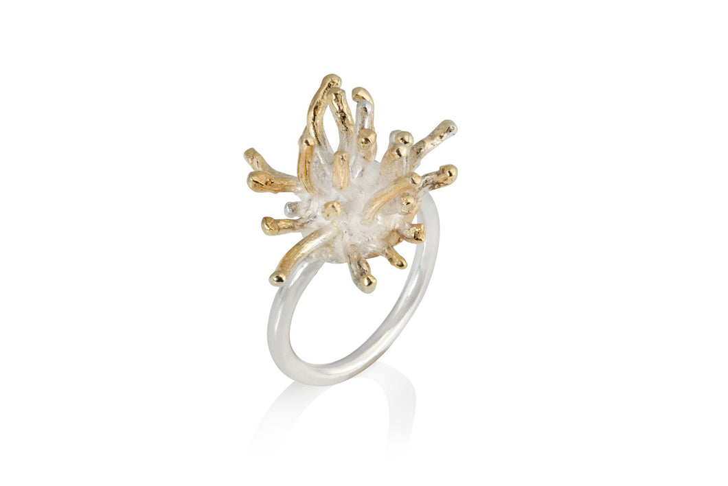 Mermaid Collection - GOLD PLATED SILVER Ring