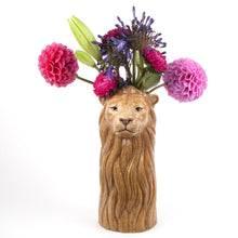 Load image into Gallery viewer, Ceramic lion Vase