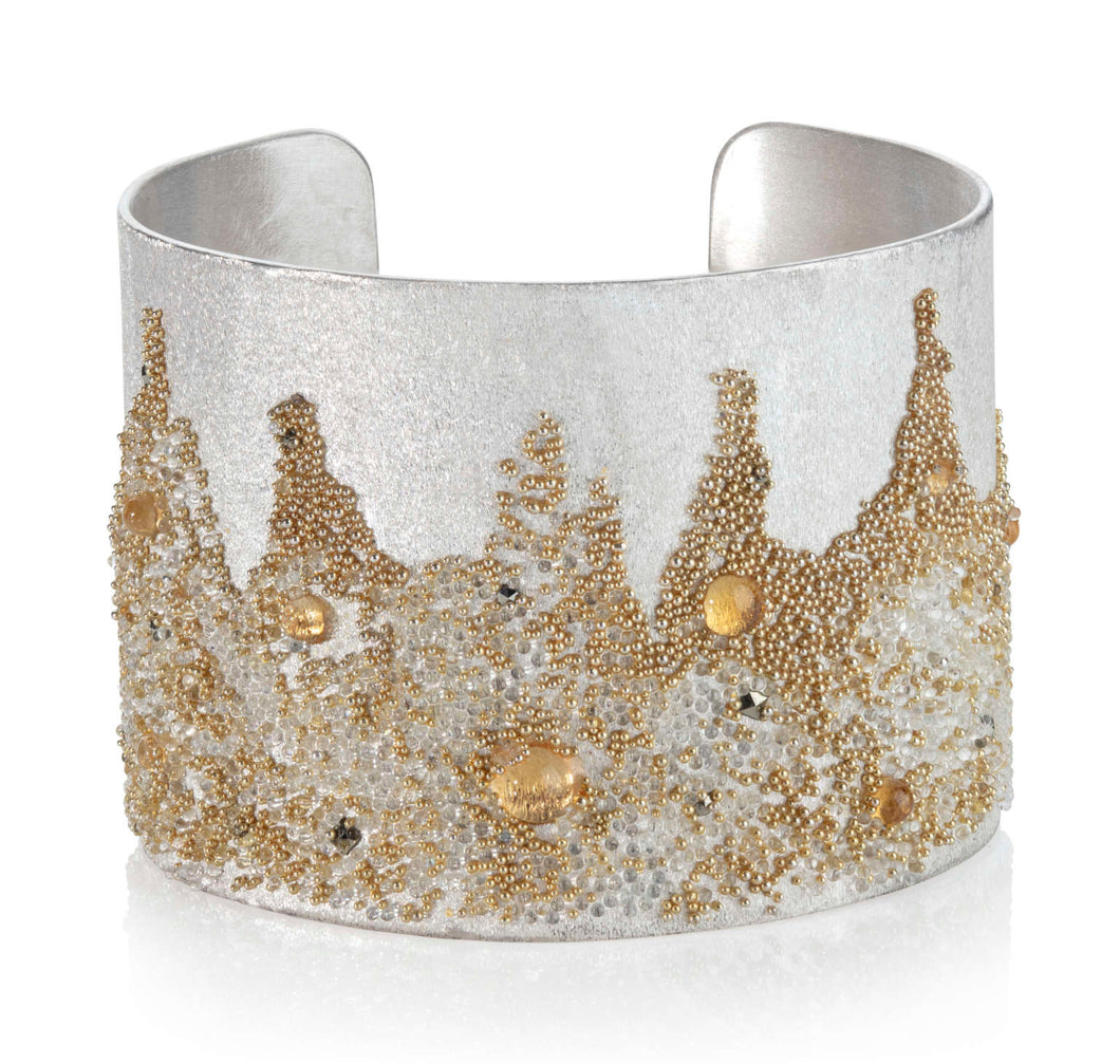 Volcanic Treasure Collection - ' Sun ' big cuff