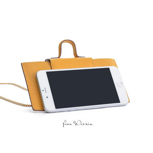 Squirel Crossbody Bag - Lemon
