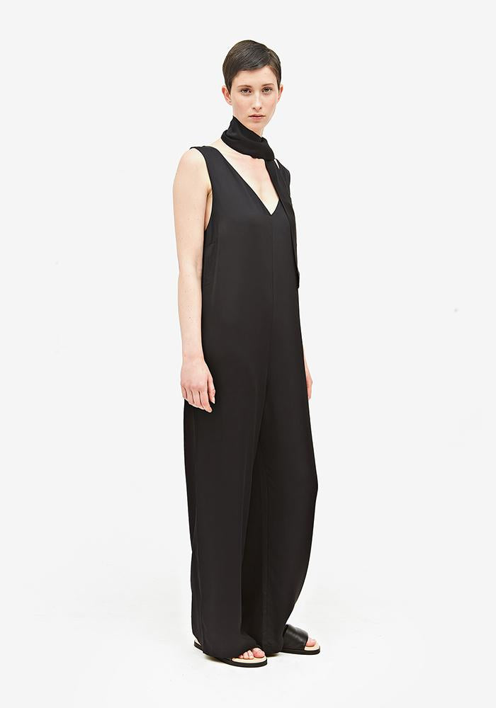Jumpsuit With Removable Belt