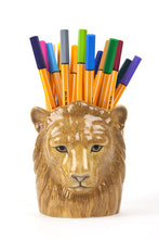 Load image into Gallery viewer, LION PENCIL POT