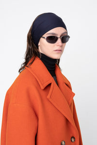 Wool Coat - Orange
