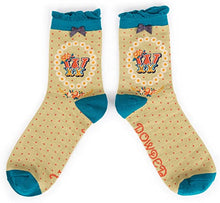 Load image into Gallery viewer, A-Z Ankle Socks - W