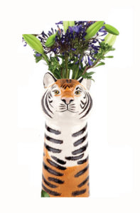 Large Flower Vase - Tiger