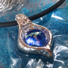 Reflection Pendant in .999 Pure Silver