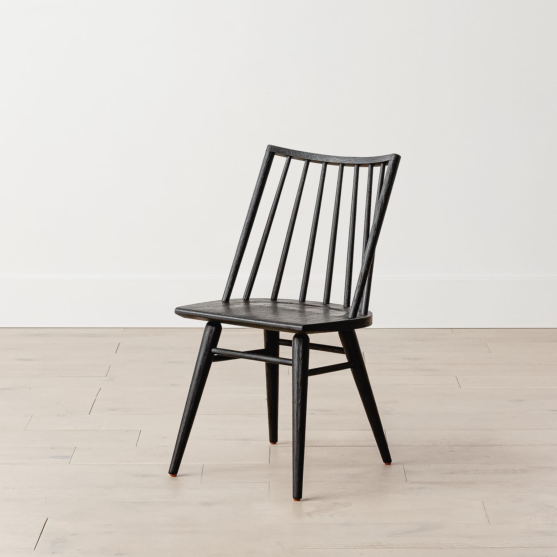 Harvey Black Oak Chair
