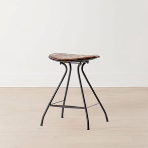 Presley Gunmetal Counter Stool