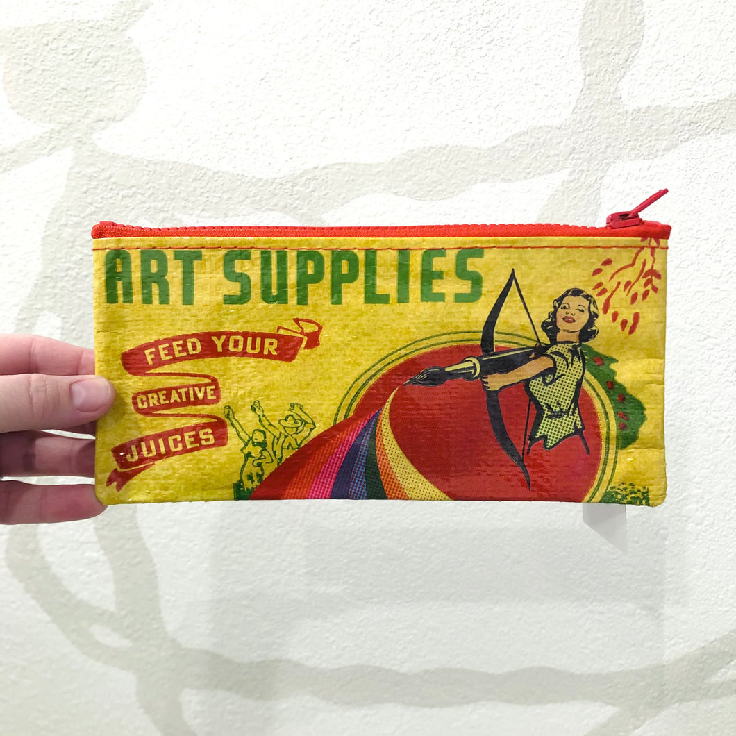 Art Supplies Bow & Arrow | Pencil Pouch