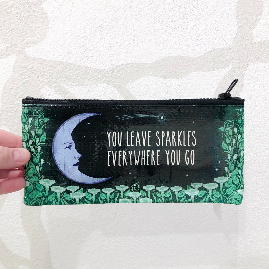 Leave Your Sparkles Wherever You Go | Pencil Pouch