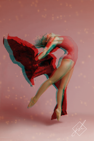 Ballerina (Cinemagraph & Still Image Bundle)