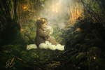 Girl With Bunnies (Cinemagraph & Still Image Bundle)