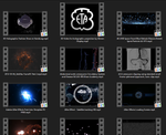 Collection of 75 Stunning Cybertech Backgrounds & Animated Elements