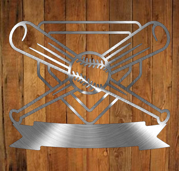 Baseball Monogram freeshipping - Price Metal & Fabrication