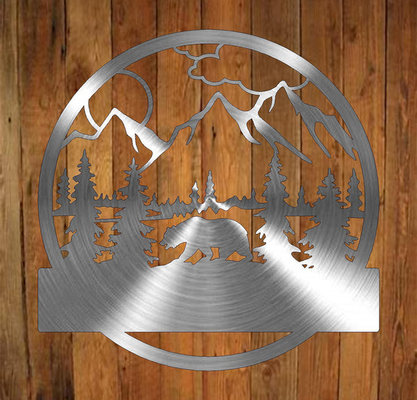 Bear Monogram freeshipping - Price Metal & Fabrication