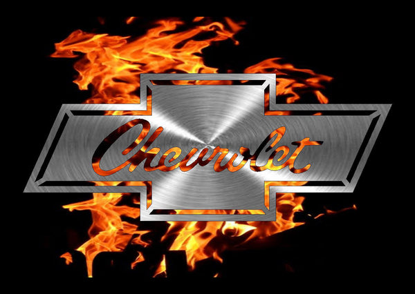 Chevy Emblem freeshipping - Price Metal & Fabrication
