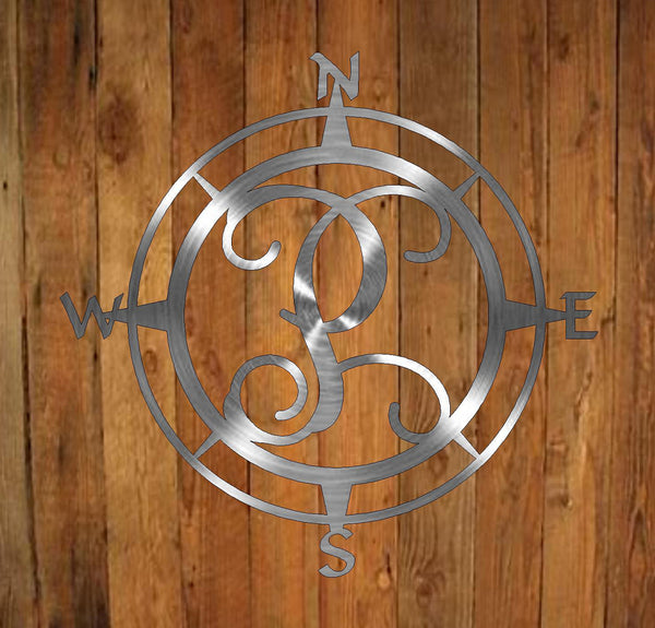 Compass Monogram freeshipping - Price Metal & Fabrication