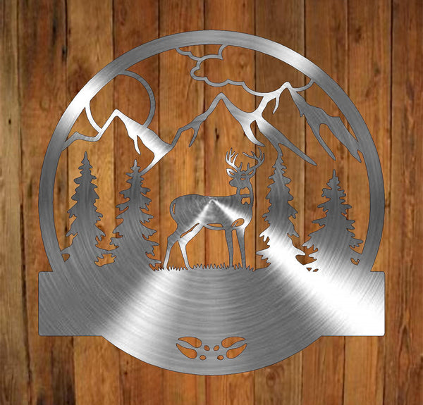 Deer Monogram freeshipping - Price Metal & Fabrication